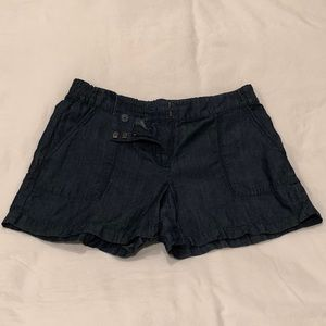 Ann Taylor soft denim shorts